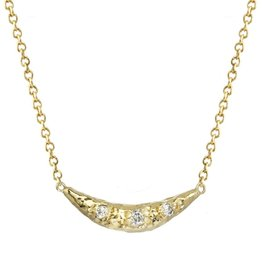 Rebecka Froberg Crescent Moon Necklace