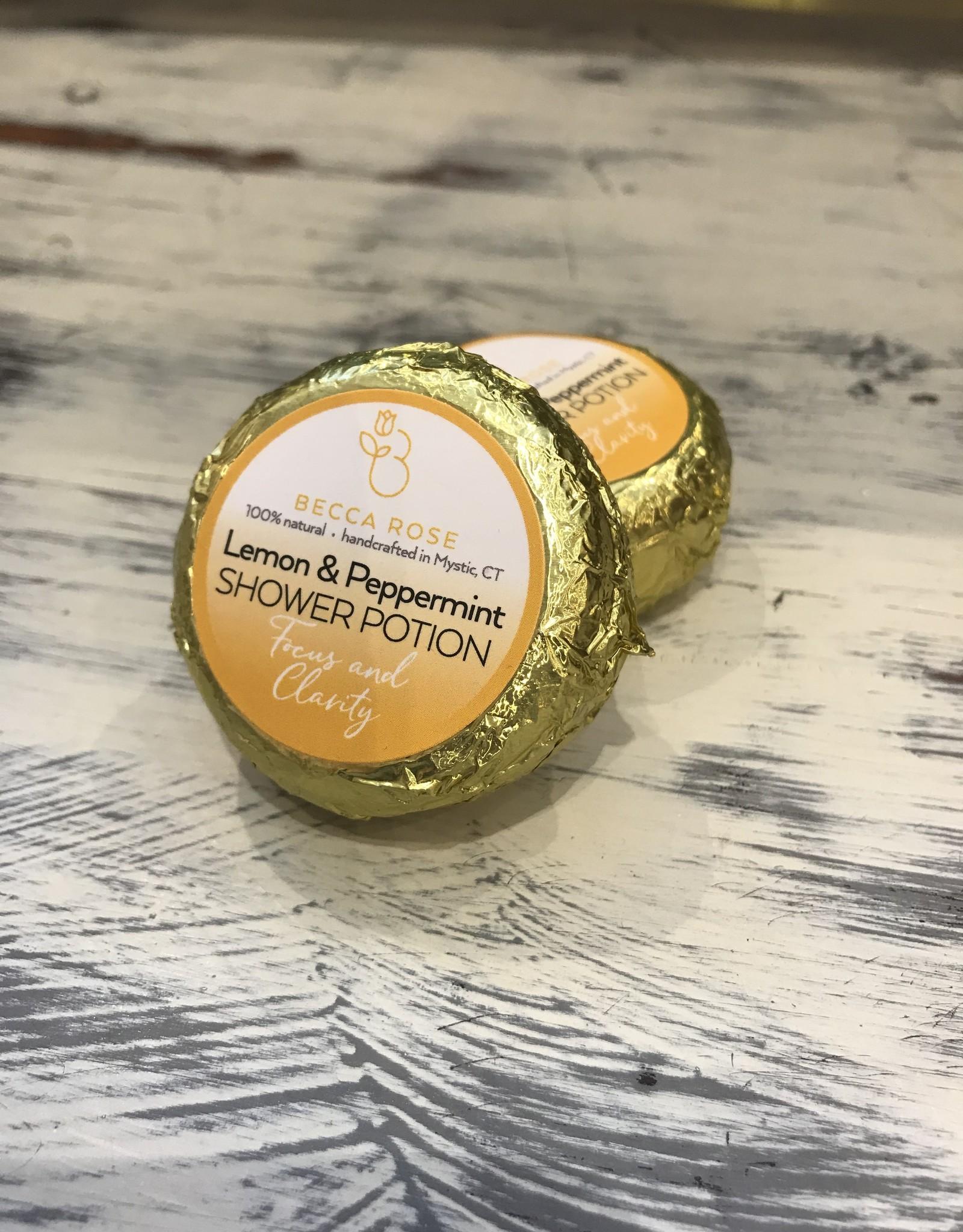 Becca Rose Shower Potion: Lemon-Peppermint