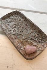 Burnt Mill Potters Herb Holder: Rectangle Dish (Assorted)