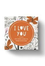 Compendium, Inc. Thoughtfulls Pop-Open Cards I Love You