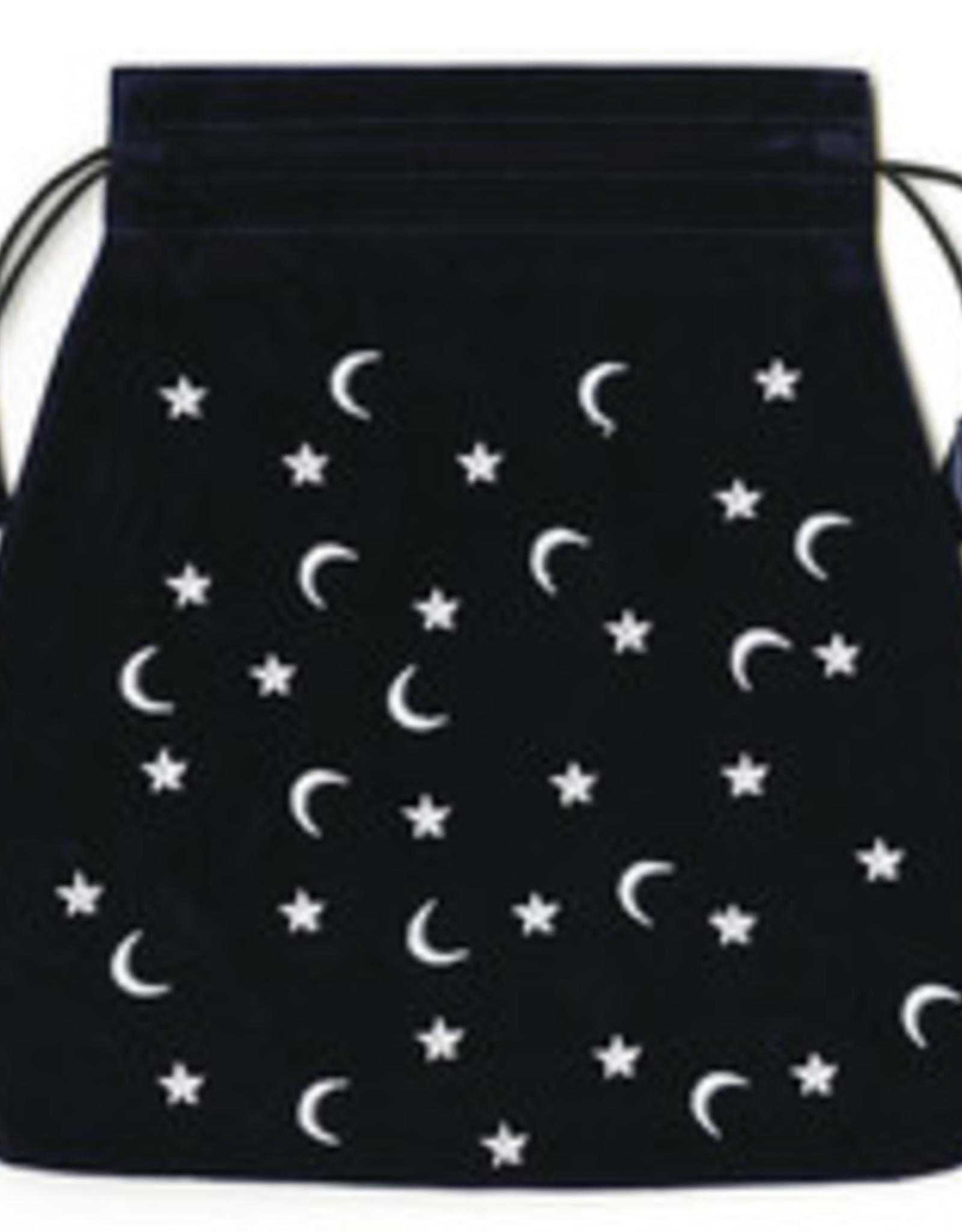 Llewelyn Moon and Stars Velvet Tarot Bag