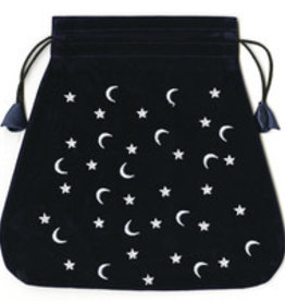 Llewelyn Moon and Stars Velvet Bag