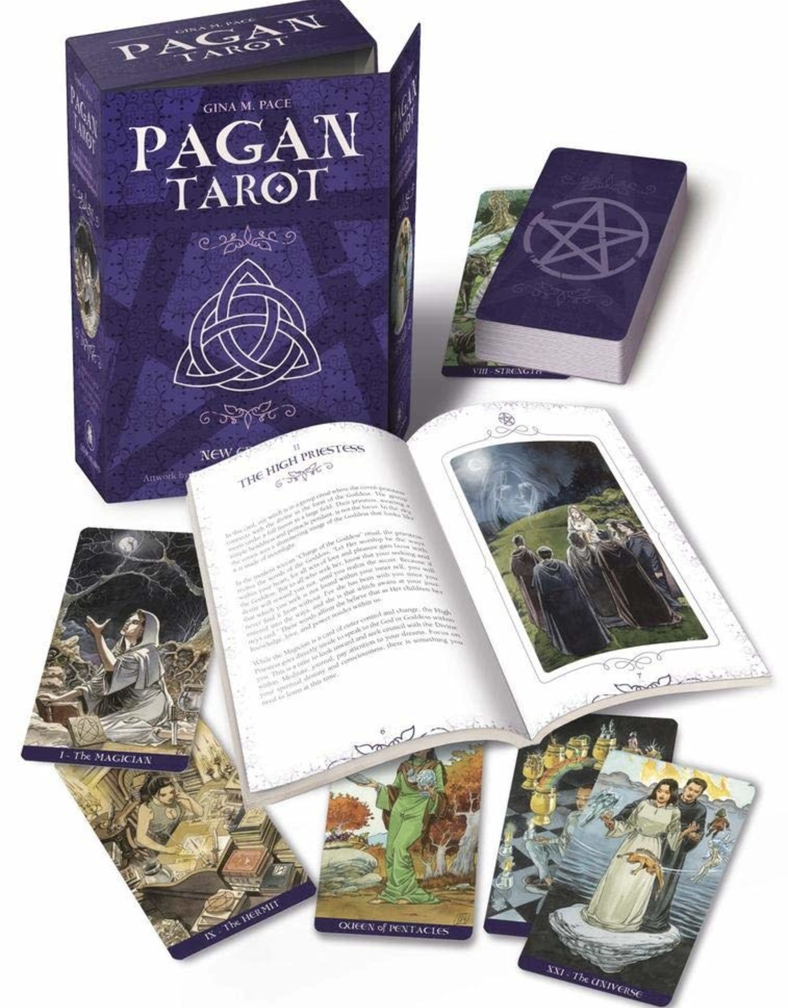 Llewelyn Pagan Tarot Kit (DC)