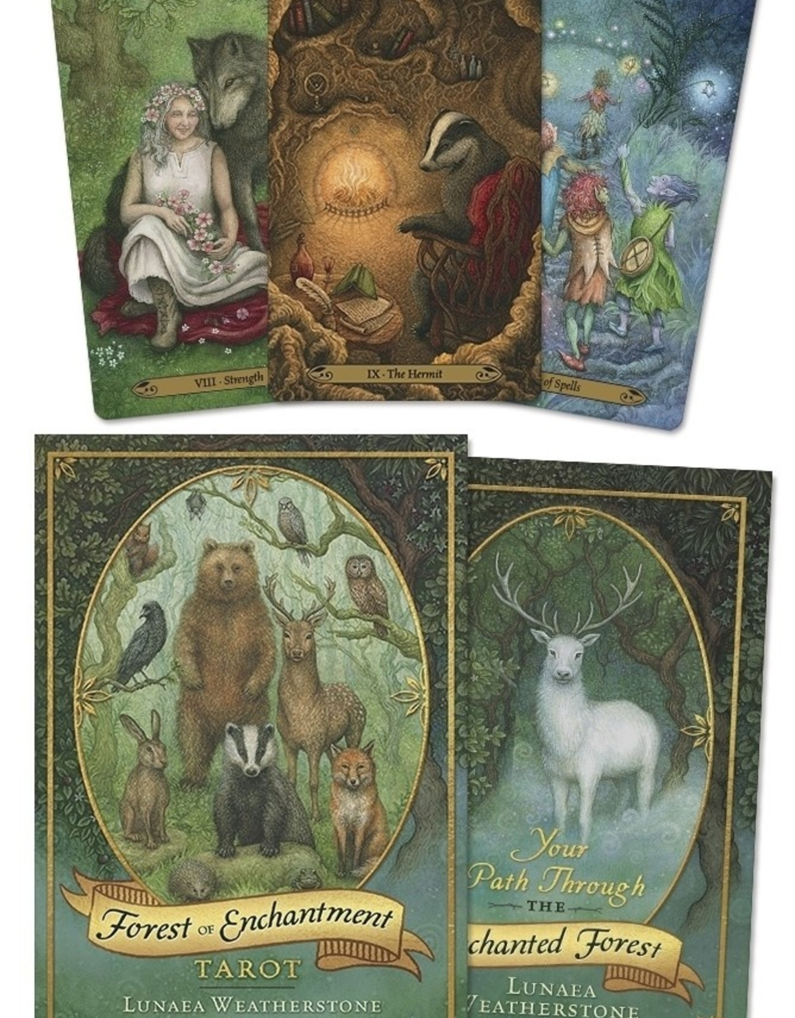 Llewelyn Forest of Enchantment Tarot