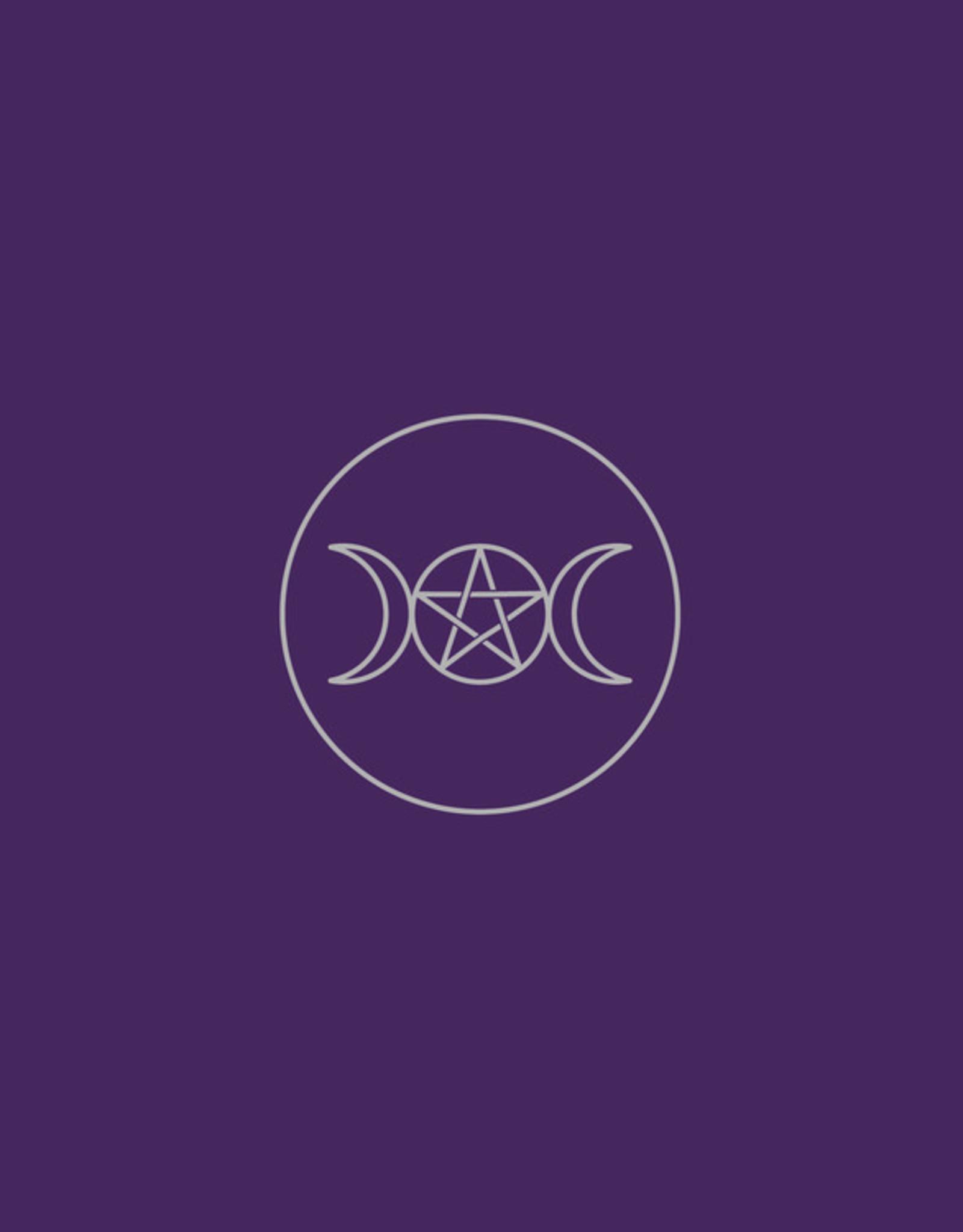 Llewelyn Pagan Circle Velvet Cloth (DC)