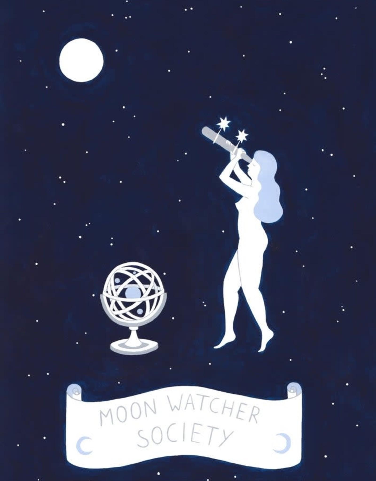 Lisa Junius Moon Watcher Society Print