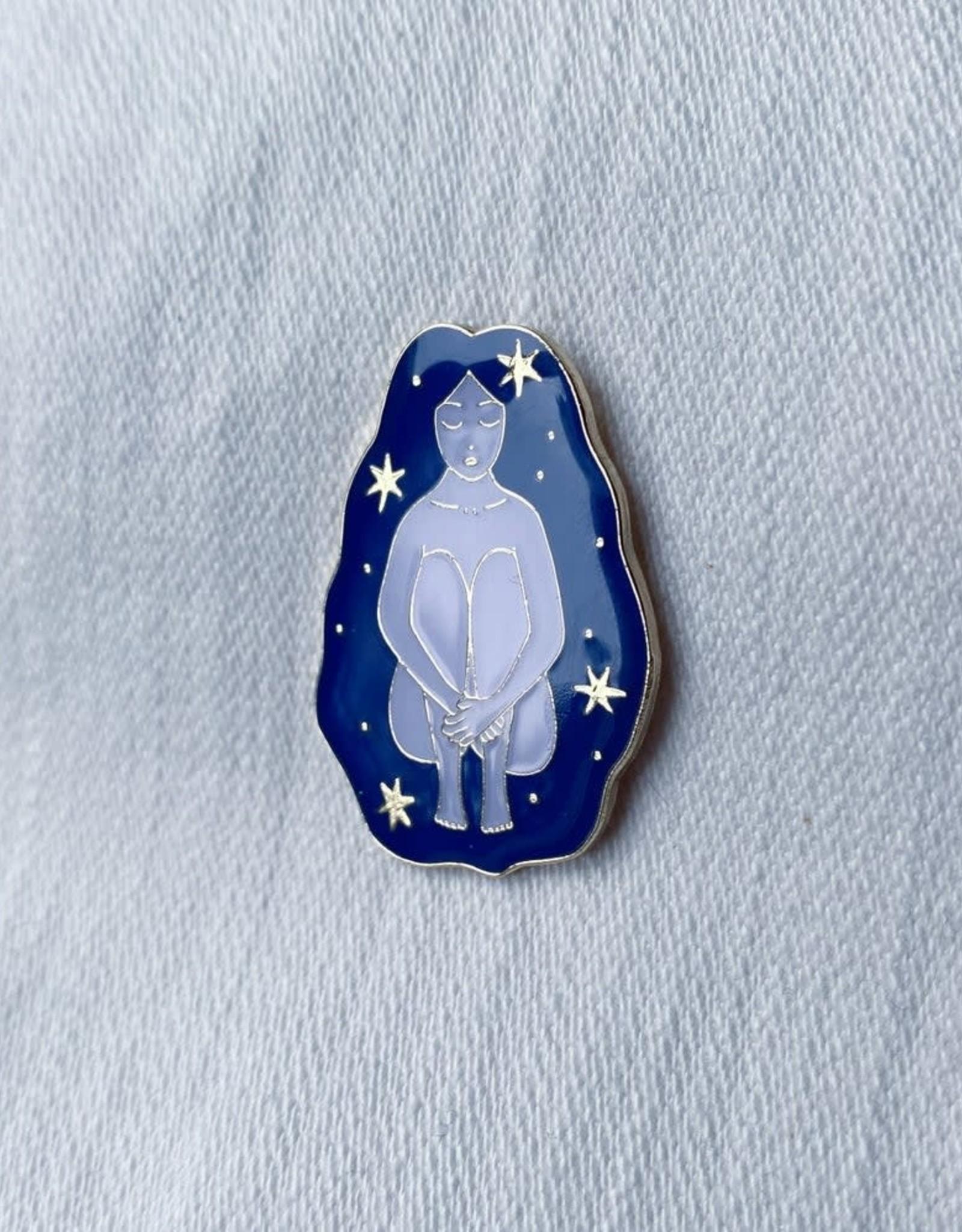 Lisa Junius Cosmic Girl Pin