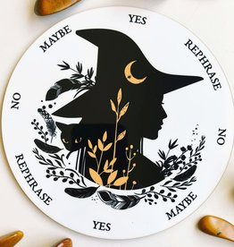 Flora and Nirvana Silhouette Witch Pendulum Board