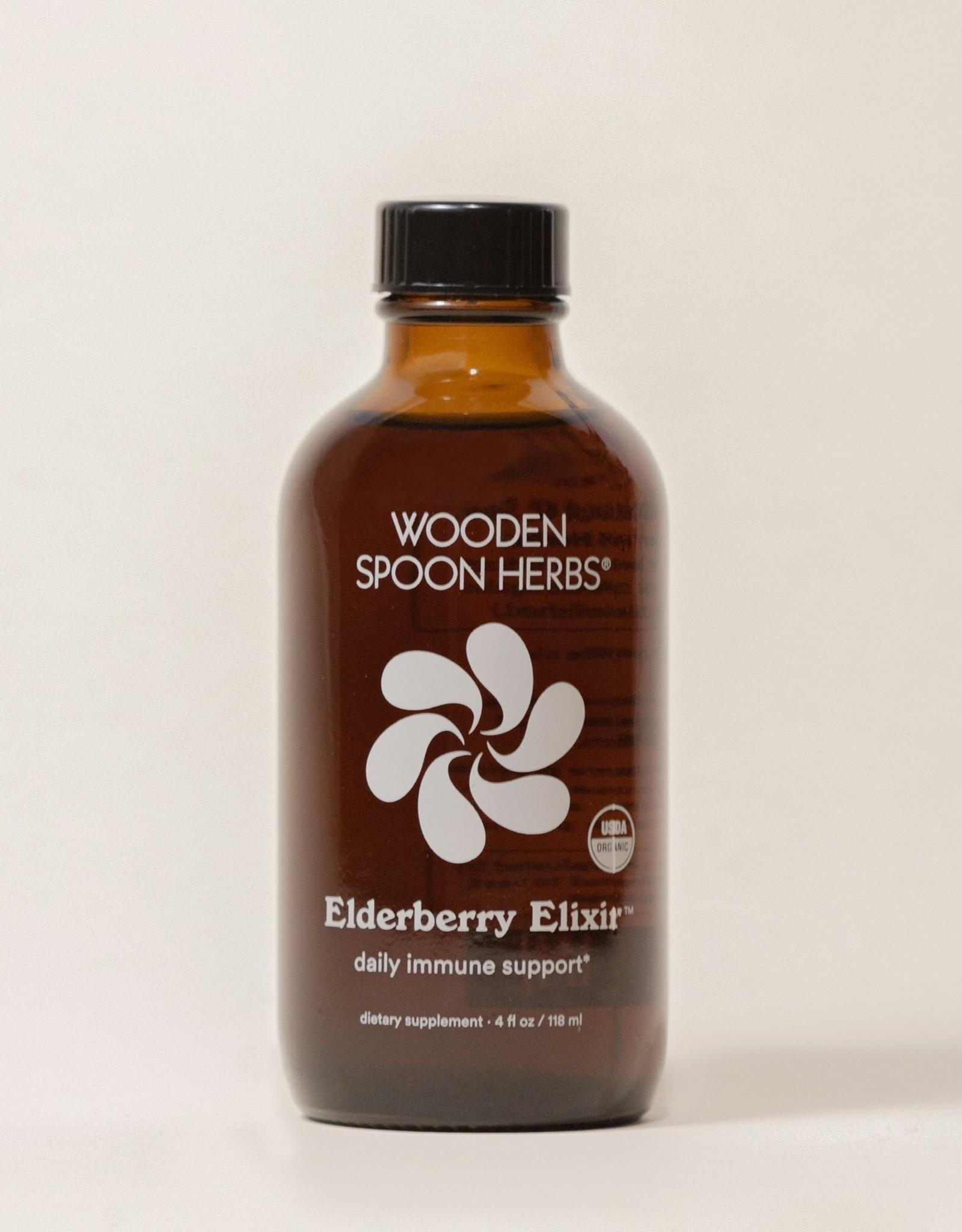 Wooden Spoon Herbs Elderberry Elixir
