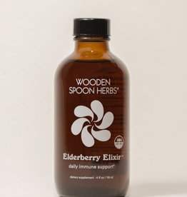 Wooden Spoon Herbs Elderberry Elixir