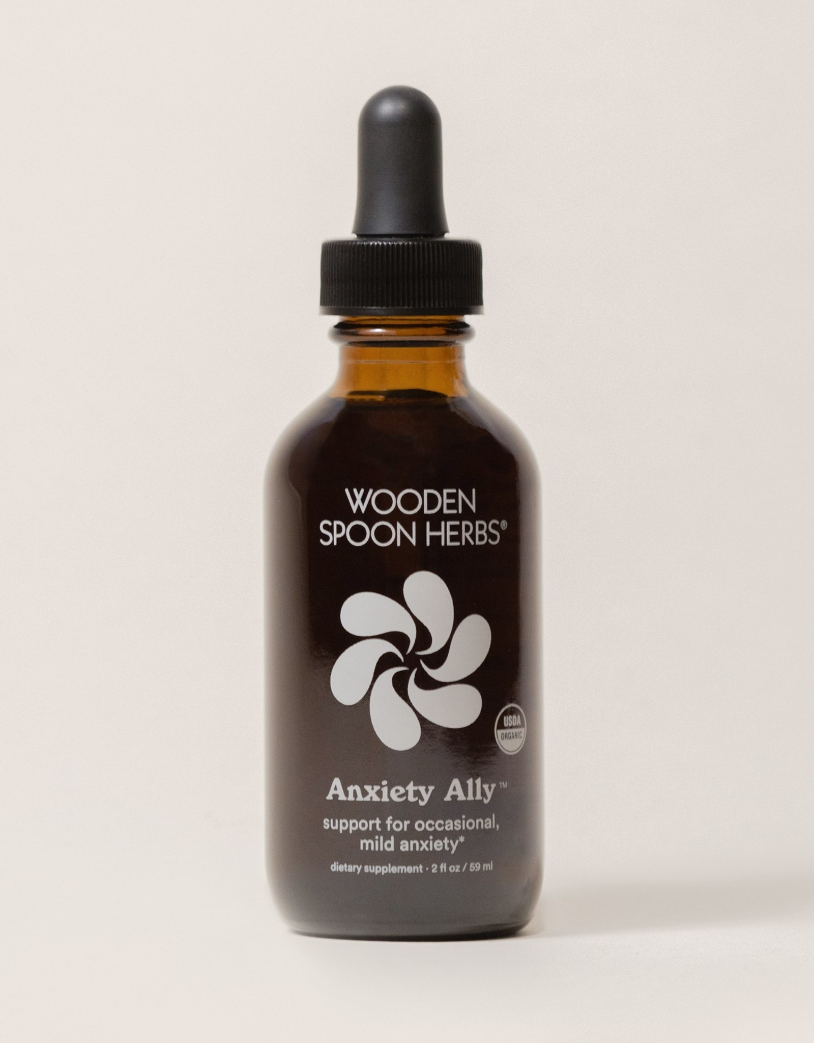 Wooden Spoon Herbs Anxiety Ally