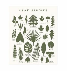 Worthwhile Paper Leaf Studies Print