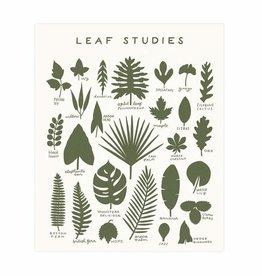 Worthwhile Paper Leaf Studies Print