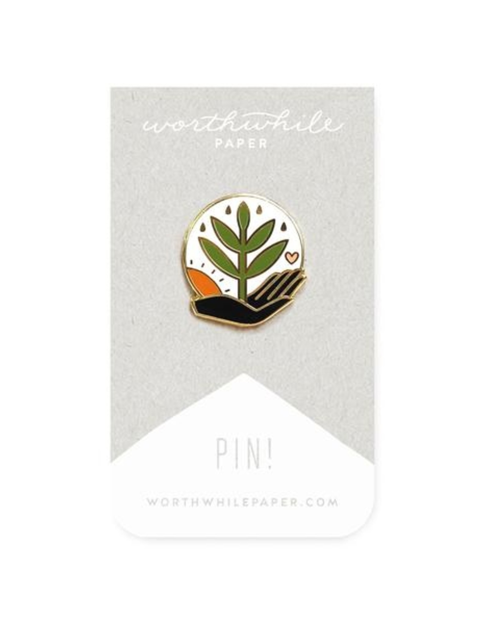 Worthwhile Paper Grow Pin