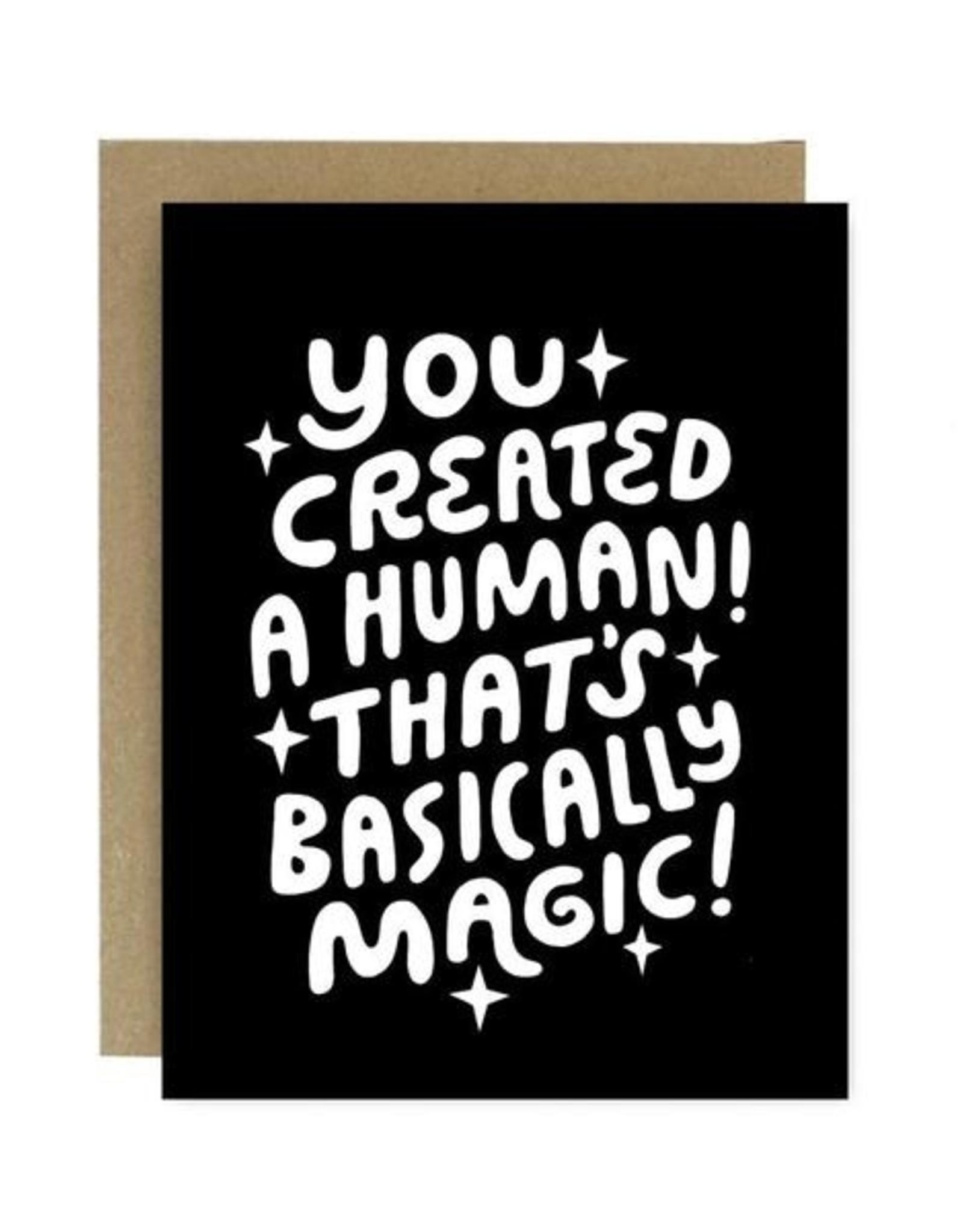 Worthwhile Paper Human Magic Card