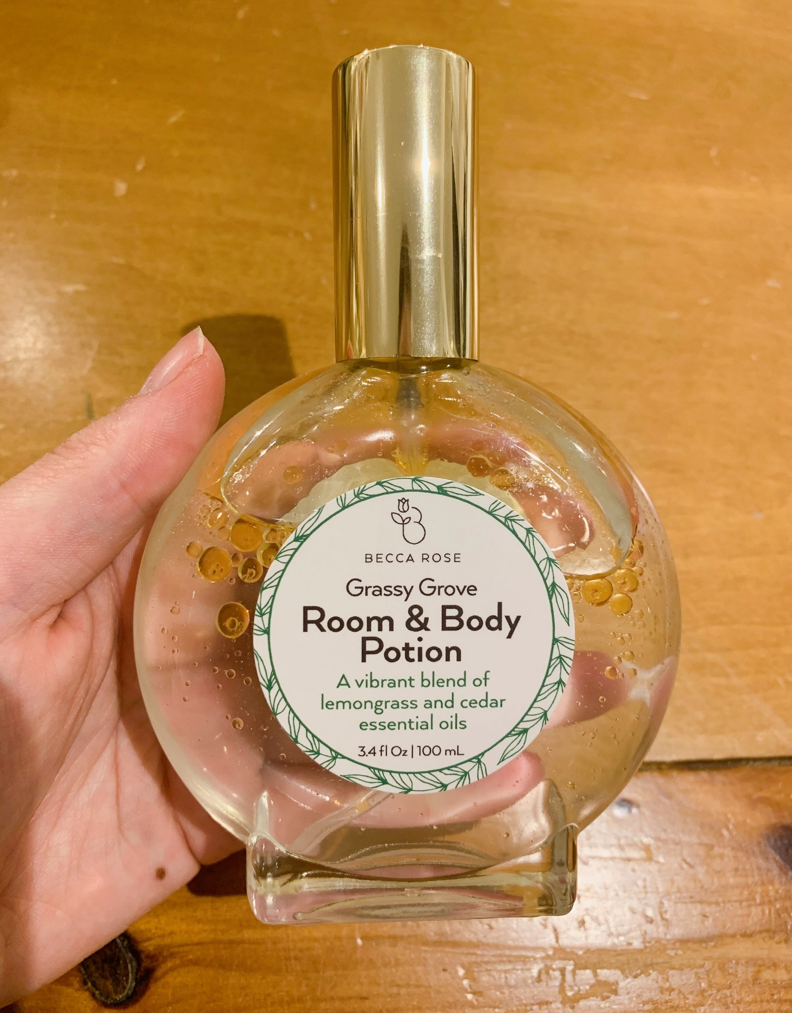 Becca Rose Grassy Grove Room & Body Potion