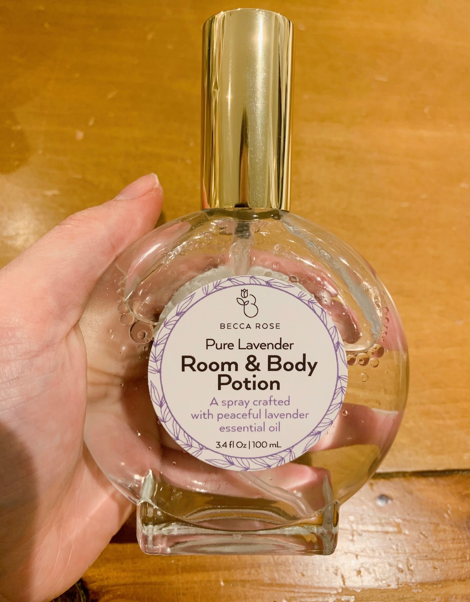 Becca Rose Room & Body Potion: Pure Lavender