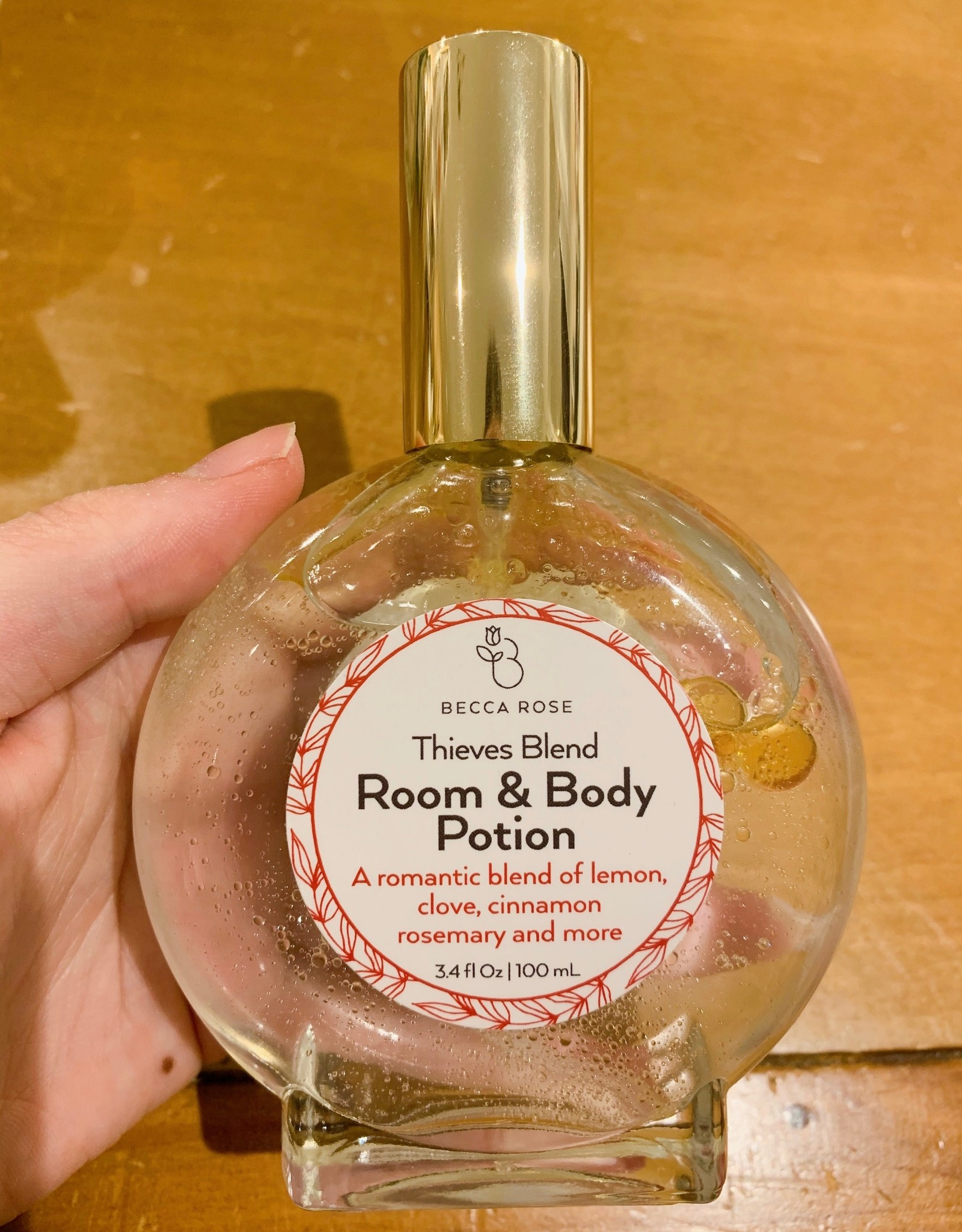 Becca Rose Room & Body Potion: Thieves Blend