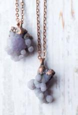 HawkHouse Grape Agate Necklace