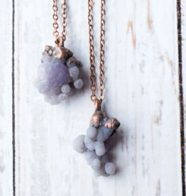 HawkHouse Grape Agate Necklace