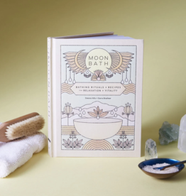 Chronicle Books Moon Bath: Bathing Rituals and Recipes for Relaxation and Vitality
