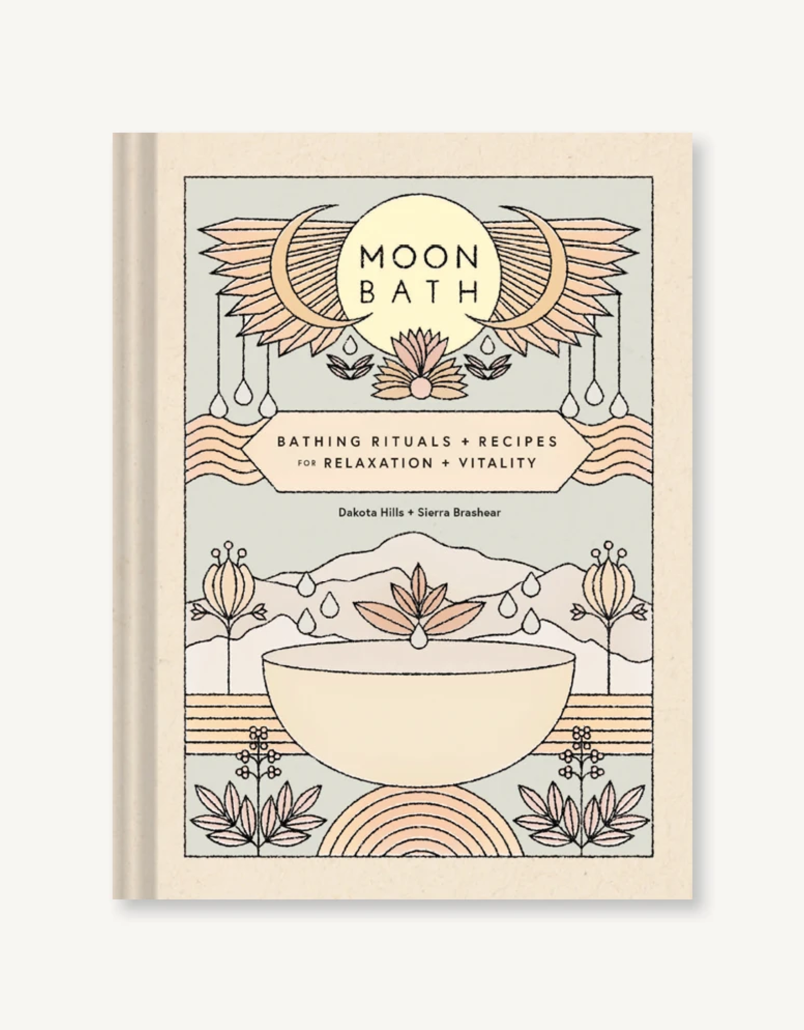 Hachette Book Group Moon Bath: Bathing Rituals and Recipes for Relaxation and Vitality