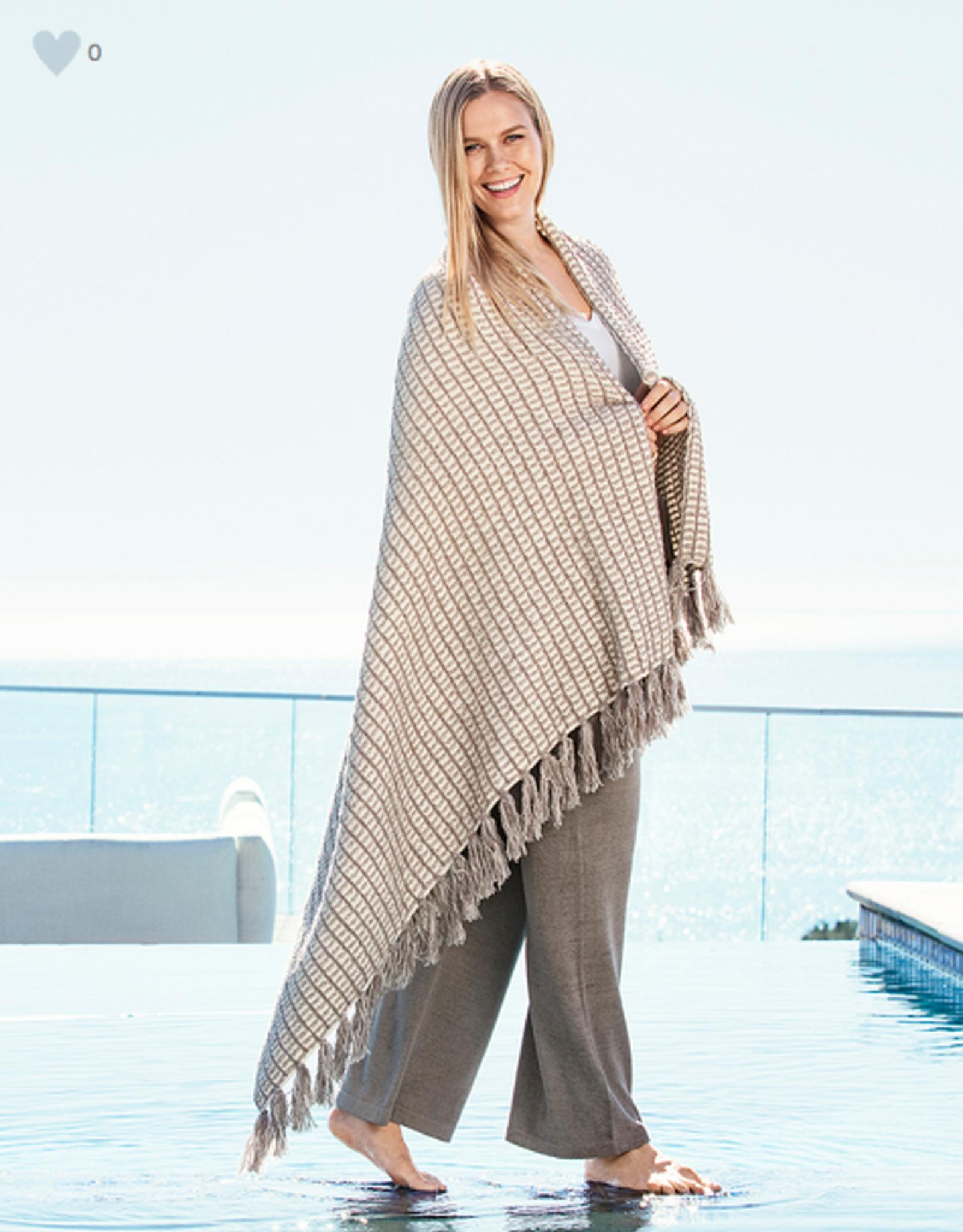 Barefoot Dreams CozyChic Beach House Blanket