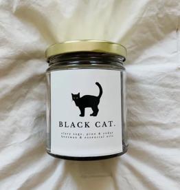 Vestal Candle Black Cat