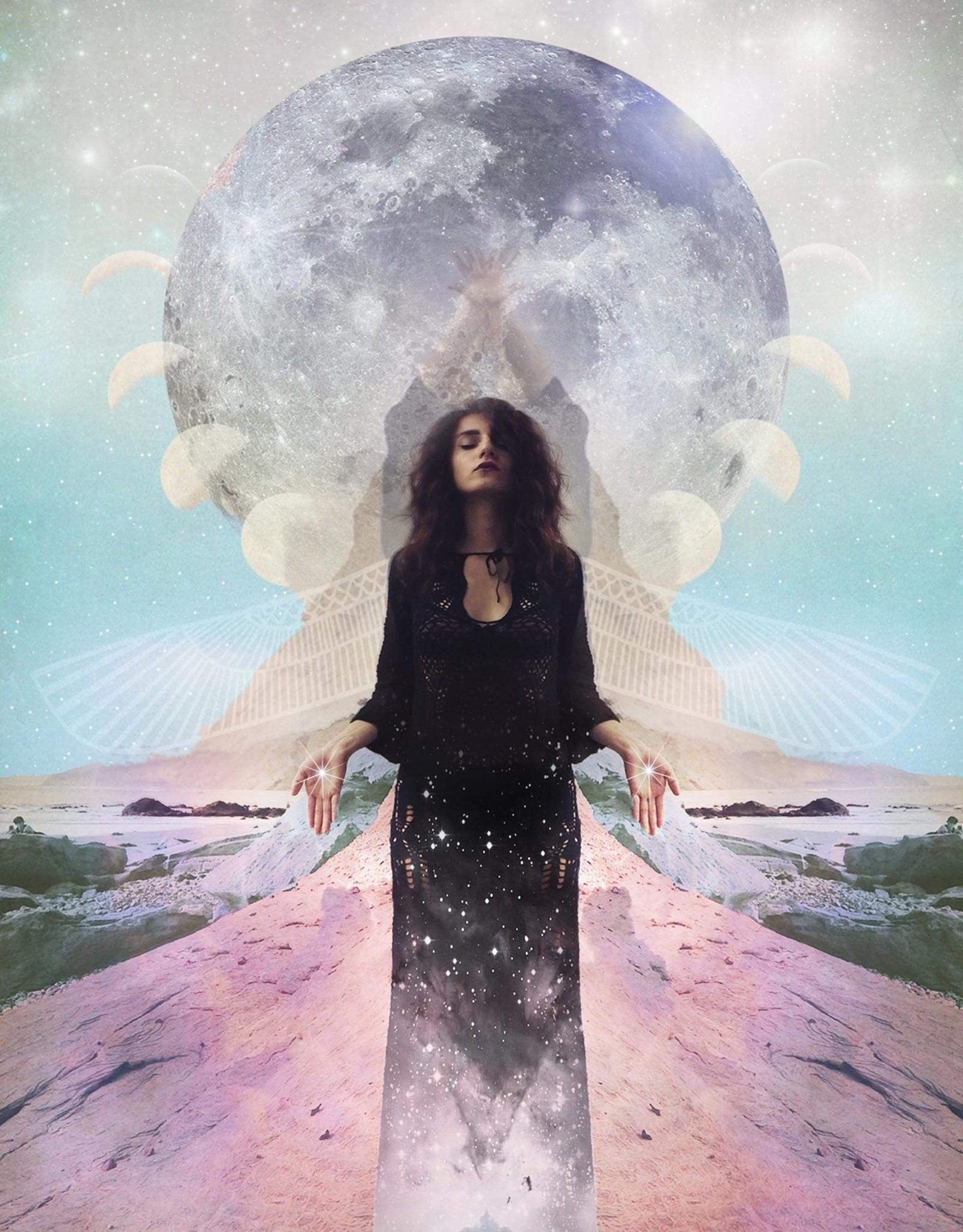 Starseed Design Starchild Moon Print