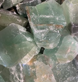 Pelham Grayson Rough Green Calcite (lg)