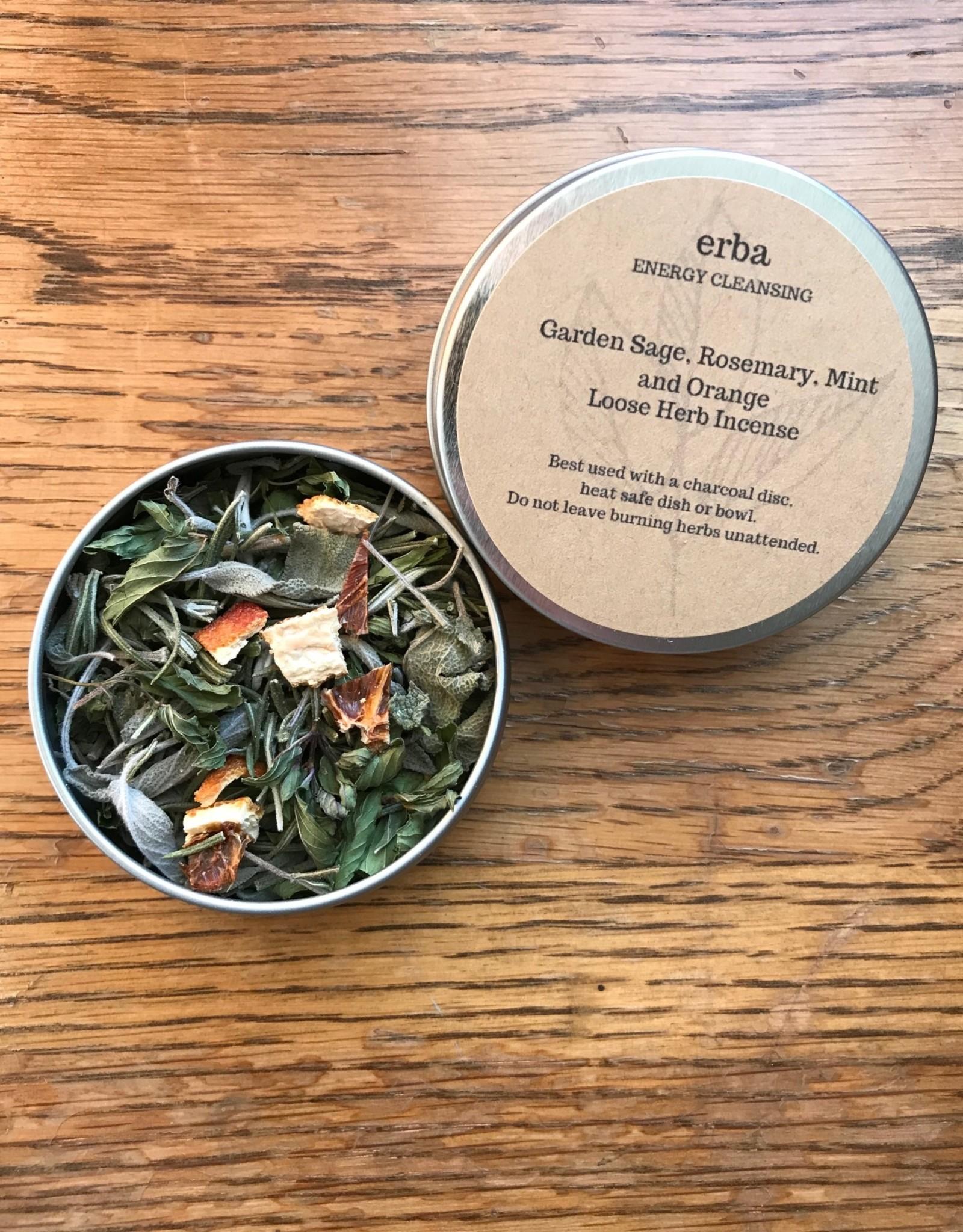 erba Garden Sage and Rosemary Loose Herb Incense