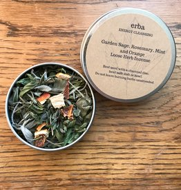 erba Garden Sage and Rosemary Loose Herb Incense