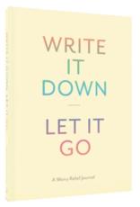 Hachette Book Group Write It Down Let It Go