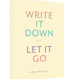 Chronicle Books Write It Down Let It Go