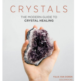 Chronicle Books Crystals- The Modern Guide to Crystal Healing