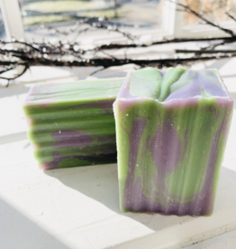 Becca Rose Goat Milk Soap: Lavender Mint