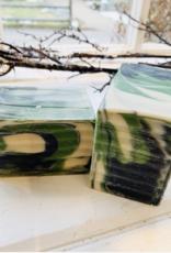 Becca Rose Goat Milk Soap: Black Jack
