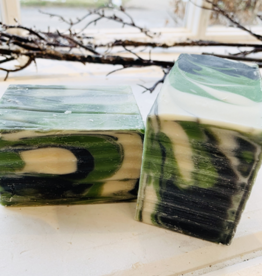 Becca Rose Goat Milk Soap: Black Jack