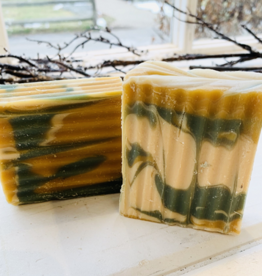 Becca Rose Goat Milk Soap: Lemon Mint Love