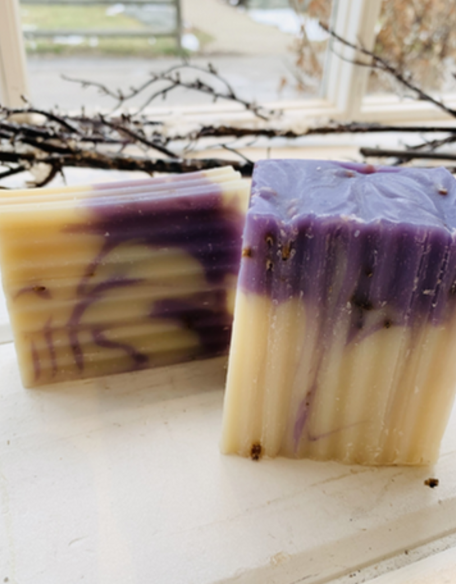 Becca Rose Goat Milk Soap: Lavender Song