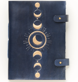 Matr Boomie Indukala Leather Journal - Crescent