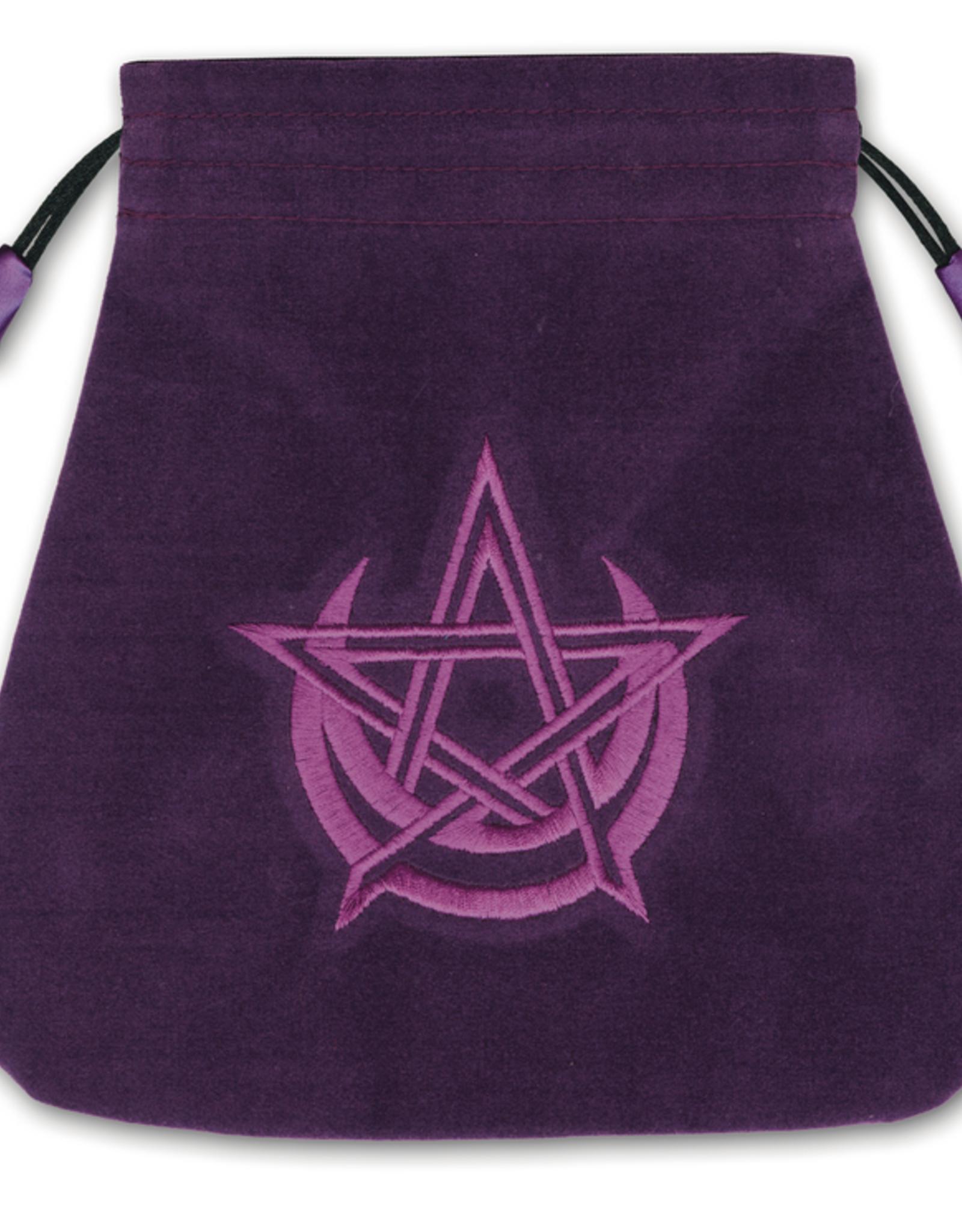 Llewelyn Pagan Moon Velvet Bag