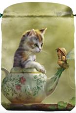 Llewelyn Fantasy Cat Satin Bag (DC)