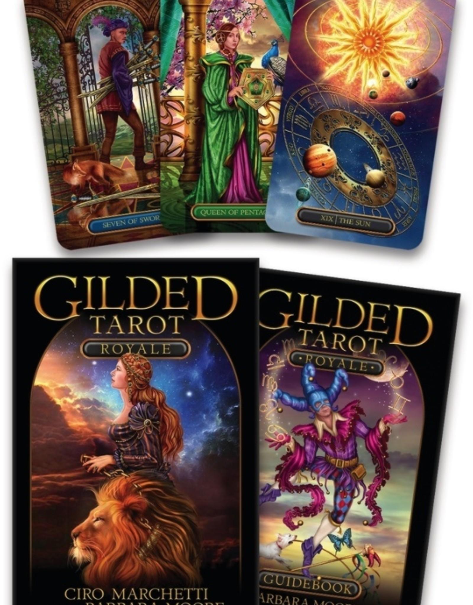 Llewelyn Gilded Tarot Royale
