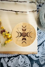 Firelight Jar: Triple Goddess Moon Phase