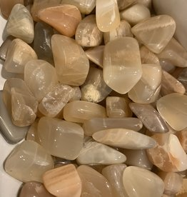 Pelham Grayson Peach Moonstone Tumbled