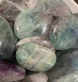 Pelham Grayson Fluorite Palmstone