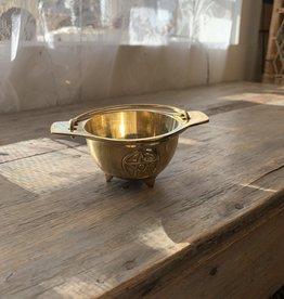 New Age Imports, Inc. Pentacle Cauldron Brass