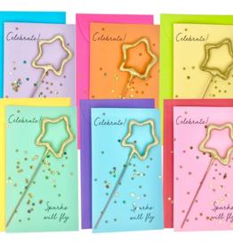 TOPS Malibu Confetti Sparkler Cards Celebrate!