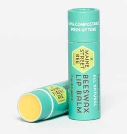 Maine Street Bee, LLC Natural Cocoa Butter Beeswax Lip Balm